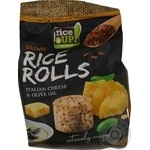 Crispbread Rice up rice with taste of cheese 50g