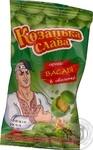 Арахис Козацька слава в хрустящей оболочке жареный соленый со вкусом васаби 55г