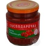 Tomato paste Hospodarochka 465g glass jar