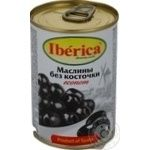 olive Iberica black canned 280g