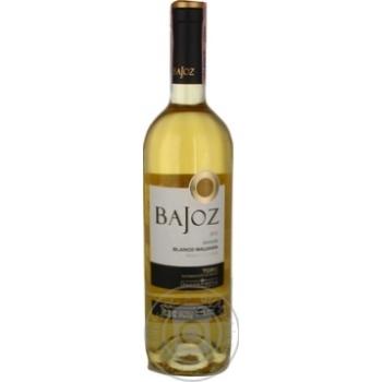 Вино Bajoz Blanco Malvasia Toro белое сухое 13% 0,75л