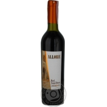 Wine Allore red semisweet 9-11% 750ml - buy, prices for Novus - image 1