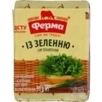 Сыр плавленый Ферма с зеленью 55% 90г Украина