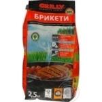 Брикет древесный уголь 2,5кг