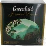 Чай Greenfield зеленый Jasmine Dream 120пак