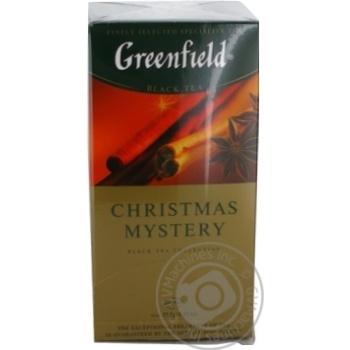 Чай Greenfield чорний Christmas Mystery 25шт*1.5г - купити, ціни на Метро - фото 5