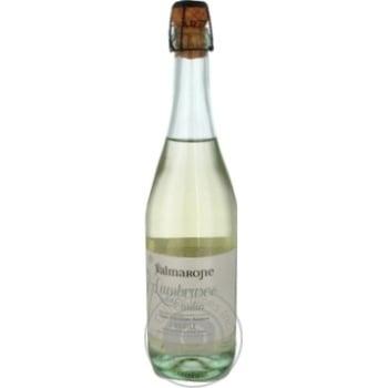 Вино игристое Valmarone Lambrusco белое полусладкое 0,75л