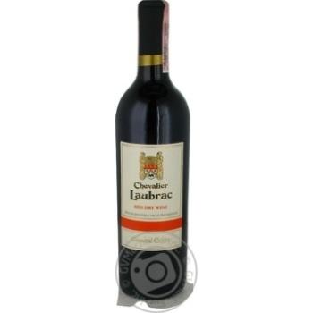 Вино Chevalier Laubrac Grande Cuvee красное сухое 11% 0,75л