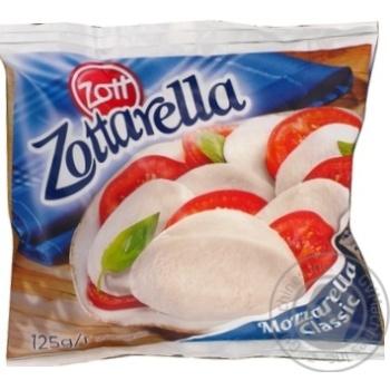 Сир Моцарелла Zottarella 45% 125г Німеччина - купити, ціни на Novus - фото 3