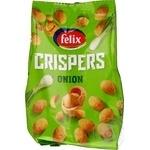 Арахис в хрустящей оболочке Felix Crispers со вкусом зеленого лука 140г
