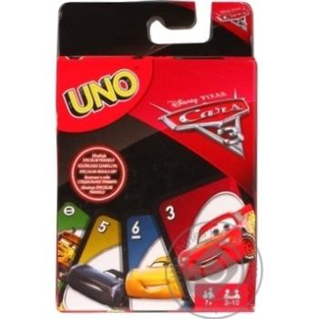 Настольная игра Uno Тачки 3
