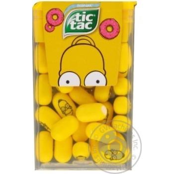 Драже Tic Tac зі смаком жувальної гумки 16г