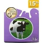 Молоко Mlekovita безлактозное 1,5% 1000мл