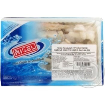 Микс Nigel для паэльи замороженный 500г - купить, цены на Novus - фото 1