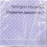 Серветки паперові декоративні Tarrington House 33*33 18шт
