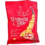 Арахис Козацька слава жареный соленый со вкусом бекона 180г