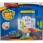 Игровой набор City Parking Больница с 1 машинкой