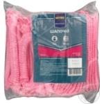 Шапочки METRO Professional одноразовые розовые 100шт - купить, цены на Метро - фото 1
