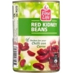 Vegetables kidney bean Fine life red canned 400g