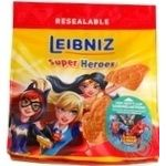 Печенье Bahlsen Leibniz Super Heroes Girls 100г