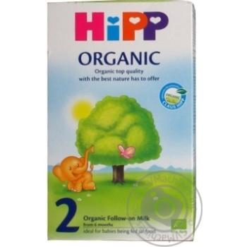 Смесь молочная детская Hipp Organic 2 300г