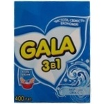 Laundry detergent powder Gala 3in1 Sea Fresh for hand laundry 400g