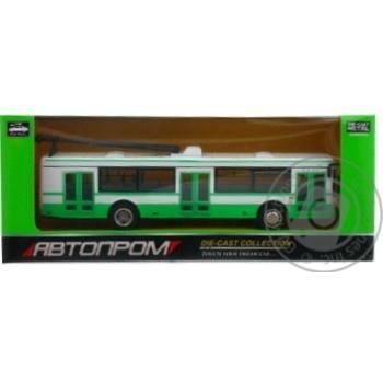 Игрушка машина металл троллейбус Автопром