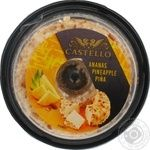Cream-cheese Castello pineapple 125g
