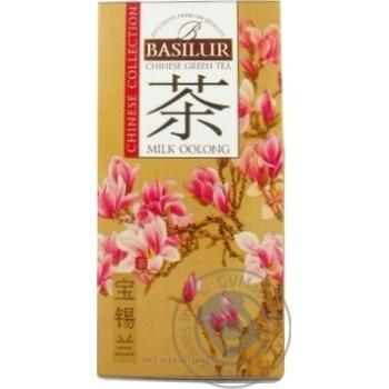 Чай Basilur зеленый китай milk oolong 100г - купить, цены на Метро - фото 2