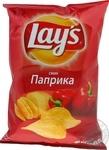 Чипсы Lay's картофельные со вкусом паприки 133г