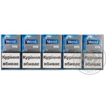 Сигареты Вест 0.1-0.8мг Украина