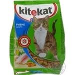 Корм Kitekat Рыбное ассорти сухой для кошек 400г