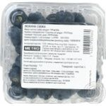 Fruit berry blueberry fresh 125g