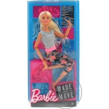 Barbie Move like I do Toy doll in stock - buy, prices for MegaMarket - image 2