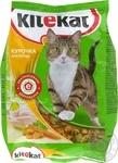 Корм для котів сухий Kitekat Курочка апетитна 400г