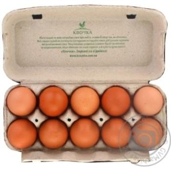 Яйца куриные Квочка отборные С0 10шт - купить, цены на МегаМаркет - фото 2