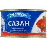 Сазан обсмажений у томатному соусі Аква ж/б 230г