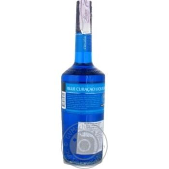 Лікер De Kuyper Blue Curacao 24% 0,7л - купити, ціни на Novus - фото 2