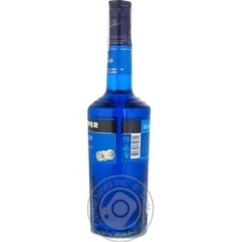 Лікер De Kuyper Blue Curacao 24% 0,7л - купити, ціни на Novus - фото 4