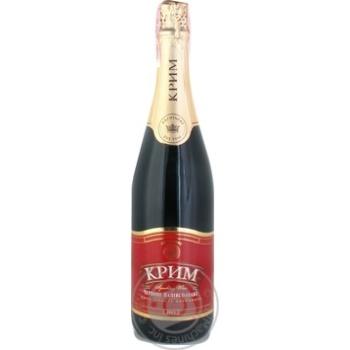 Вино игристое Artwinery АЗШВ Крым выдержанное красное полусладкое 13,5% 0,75л