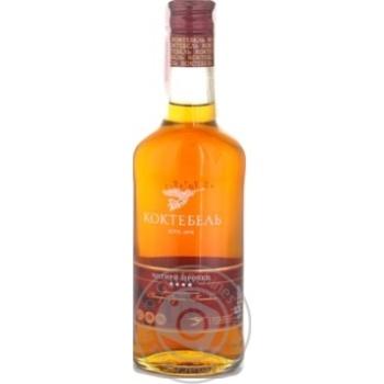 Koktebel 4* Cognac 40% 0.25l