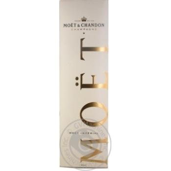 Шампанское Moet & Chandon Imperial Brut белое сухое 12% 1,5л - купить, цены на Novus - фото 1