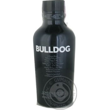 Bulldog London dry gin 40% 700ml