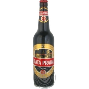Пиво Zlata Praha темное 4.1%об. 0,5л