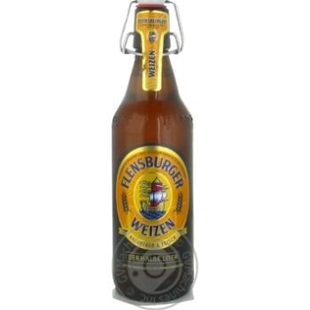 Пиво Flensburger Weizen светлое 5.1% 500мл Германия
