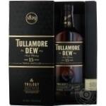 Віскі Tullamore Dew Trilogy 15років 0,7л в коробці х2