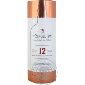 The Singleton of Dufftown 12 years whisky 40% 0,7l metal box - buy, prices for Novus - image 1