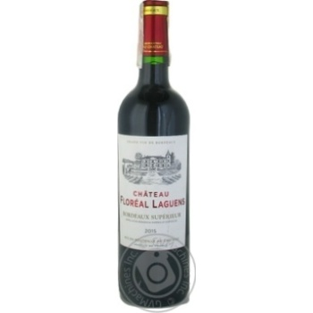 GVG Chateau Floreal Lagunes Bordeaux Superieur red dry wine 13% 0,75l