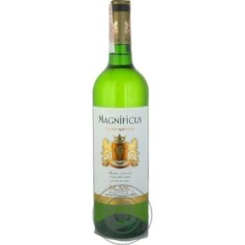 Вино Magnificus Blanc белое сухое 11% 0,75л