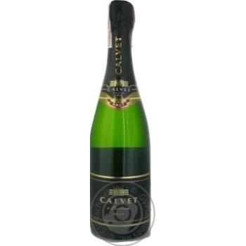 Вино игристое Calvet Cremant de Bordeaux Brut белое сухое 10,5% 0,75л - купить, цены на Novus - фото 2
